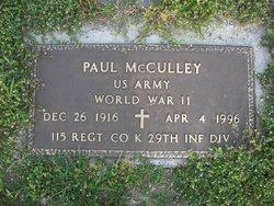 Paul C McCulley