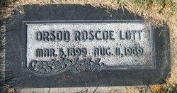 Orson Roscoe Lott