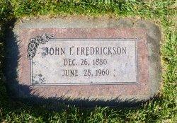 John Frederik Fredrickson