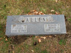 Grace <I>Hall</I> Allen