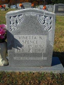 Vinetta <I>Nester</I> Spence