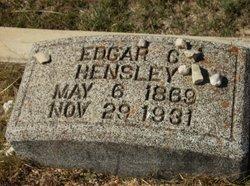 Edgar C Hensley