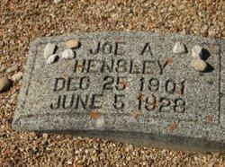 Joe A. Hensley
