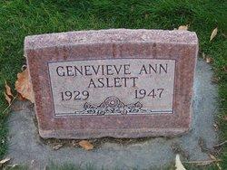 Genevieve Ann <I>Spanton</I> Aslett