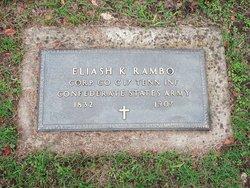 Sgt Eliash K. Rambo