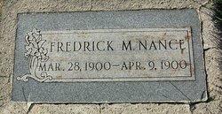 Fredrick Miles Nance