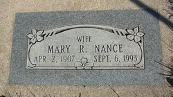 Mary Rosalie <I>Pfeister</I> Nance
