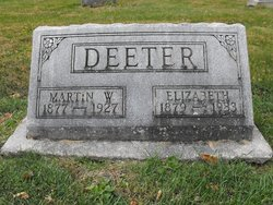 Annie Elizabeth <I>Elifritz</I> Deeter