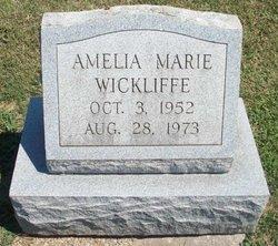 Amelia Marie Wickliffe