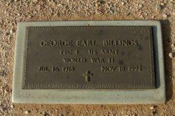 George Earl Billings