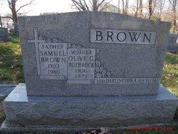 Olive Grace <I>Rothrock</I> Brown
