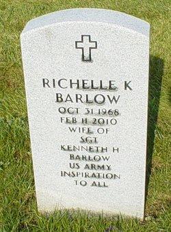 "Richelle K ""Shelley"" <I>Thompson</I> Barlow"
