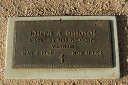 Joseph A Dehoyos