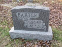 Myza M Baxter