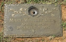 Mary <I>Whitley</I> Diehl