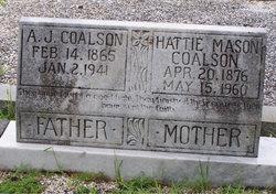 Hattie <I>Mason</I> Coalson