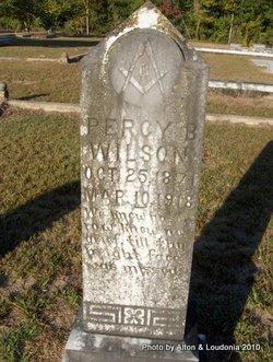 Percy B. Wilson