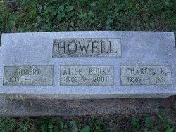 Alice <I>Burke</I> Howell