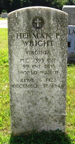 PFC Herman P. Wright