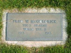 Fred W McGoldrick