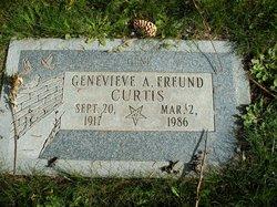 Genevieve A <I>Freund</I> Curtis