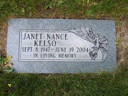 Janet I <I>Nance</I> Kelso
