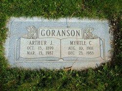 Myrtle C Goranson