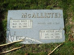 Vilate <I>Boley</I> McAllister