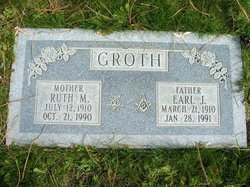 Ruth Marie <I>Evans</I> Groth