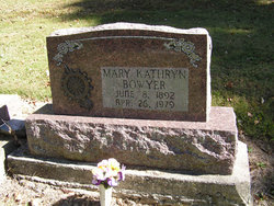 Mary Kathryn Bowyer