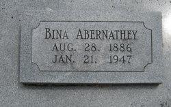 "Albinas Blane ""Bina"" Abernathey"