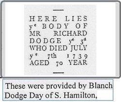 Richard Dodge, III