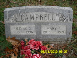 """Mary Susan """"Susie"""" <I>Cook</I> Campbell"""