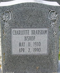 Charlotte Bradshaw Bishop