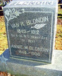 Annie Mathilda <I>Kennard</I> Blondin