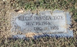 Willie Devola Tate