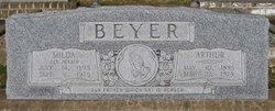 Milda Selma <I>Herber</I> Beyer