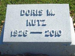 Mrs Doris Elizabeth <I>Minich</I> Kutz