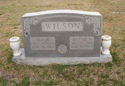 Hattie Belle <I>McKee</I> Wilson