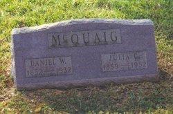Daniel W McQuaig