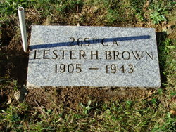 "Lester Harry ""Leslie"" Brown"