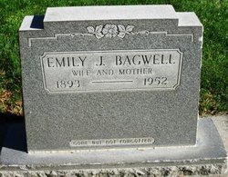 Emily Juanita <I>Scurlock</I> Bagwell