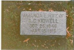 Amanda E. <I>Peck</I> Kidwell