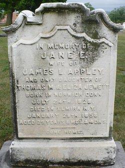 Jane E. <I>Jewett</I> Appley