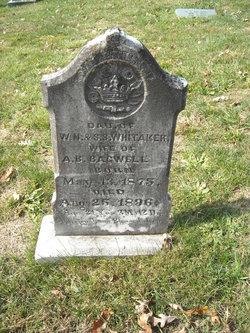 """Mary Etheline """"Mae"""" <I>Whitaker</I> Bagwell"""