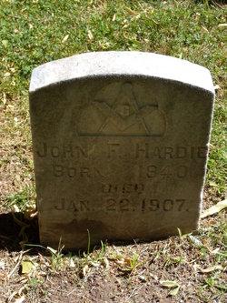 John F Hardie