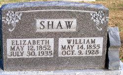 Sarah Elizabeth <I>Huckaby</I> Shaw