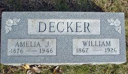 """Amelia Jane """"Jennie"""" <I>Decker</I> Hanley"""