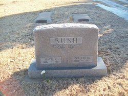 Walter M Bush