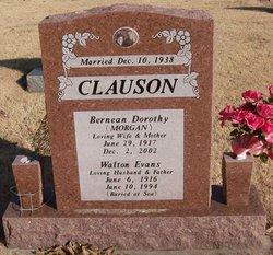 Bernean Dorothy <I>Morgan</I> Clauson